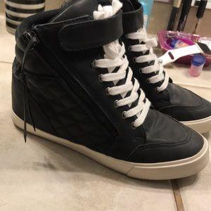 JustFab wedge sneaker
